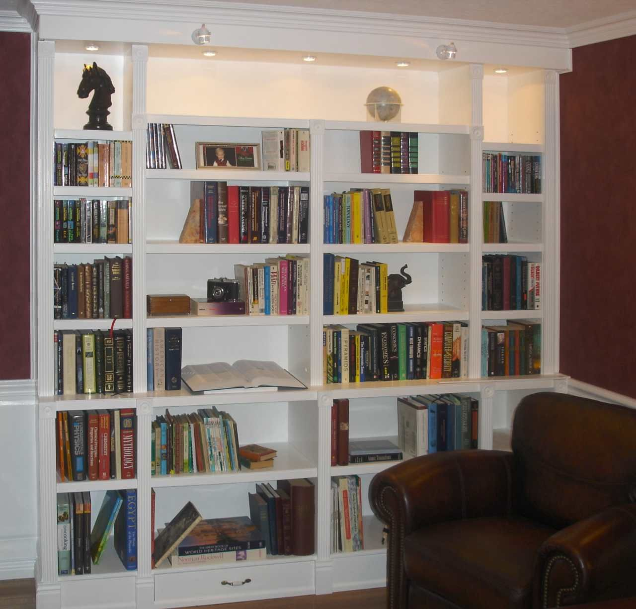 Built In Bookcases For Special And