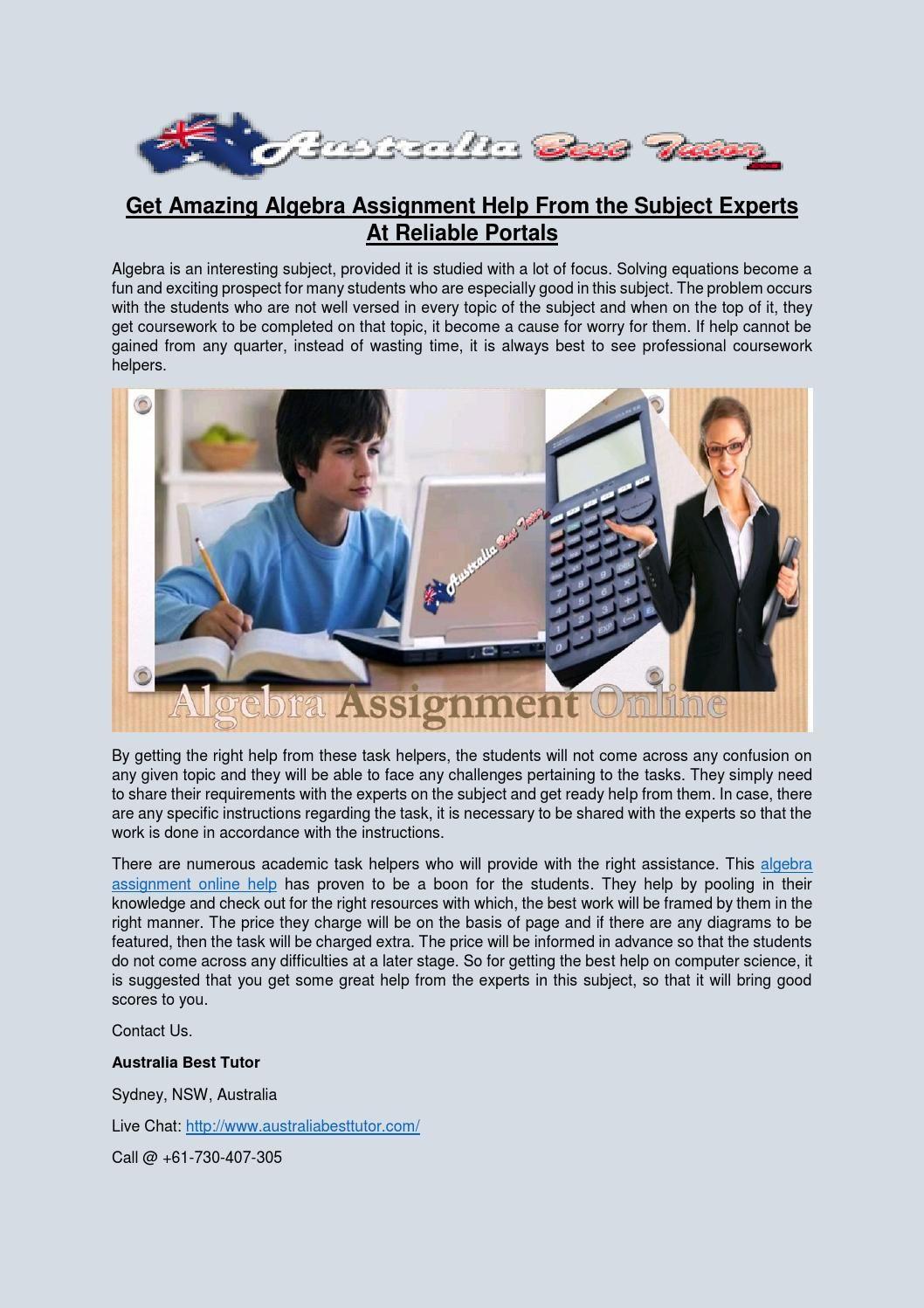 Amazing Algebra Help Website Photos - Worksheet Math for Homework ...