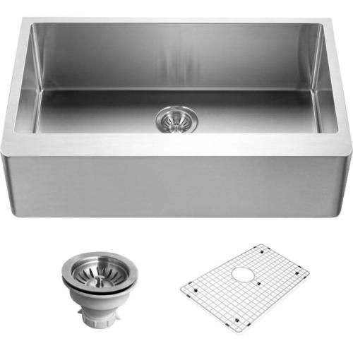 Houzer ENG 3320 Epicure Series Apron Front Gourmet Single Bowl Kitchen Sink  | Home Improvement | Pinterest