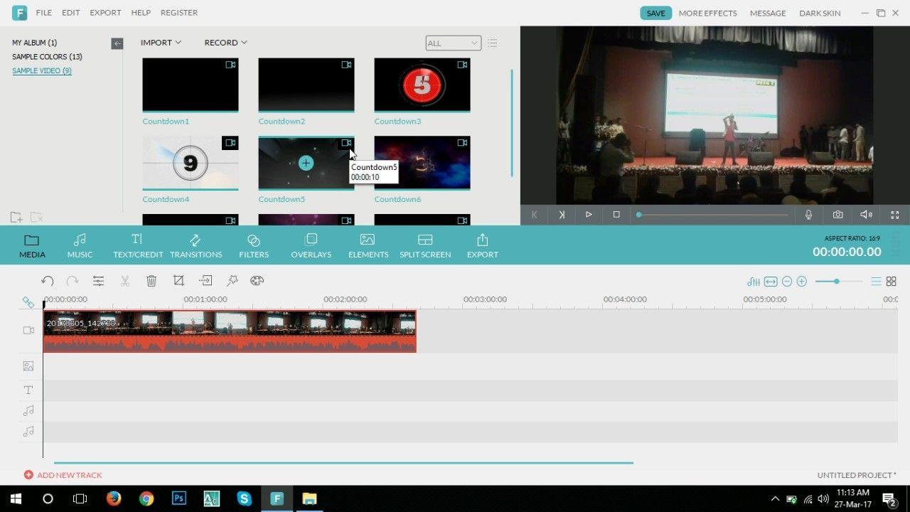 Filmora Software Filmora Full Video Editing Part 1 Bangla Tutorial Video Editing Video Editing Software Video