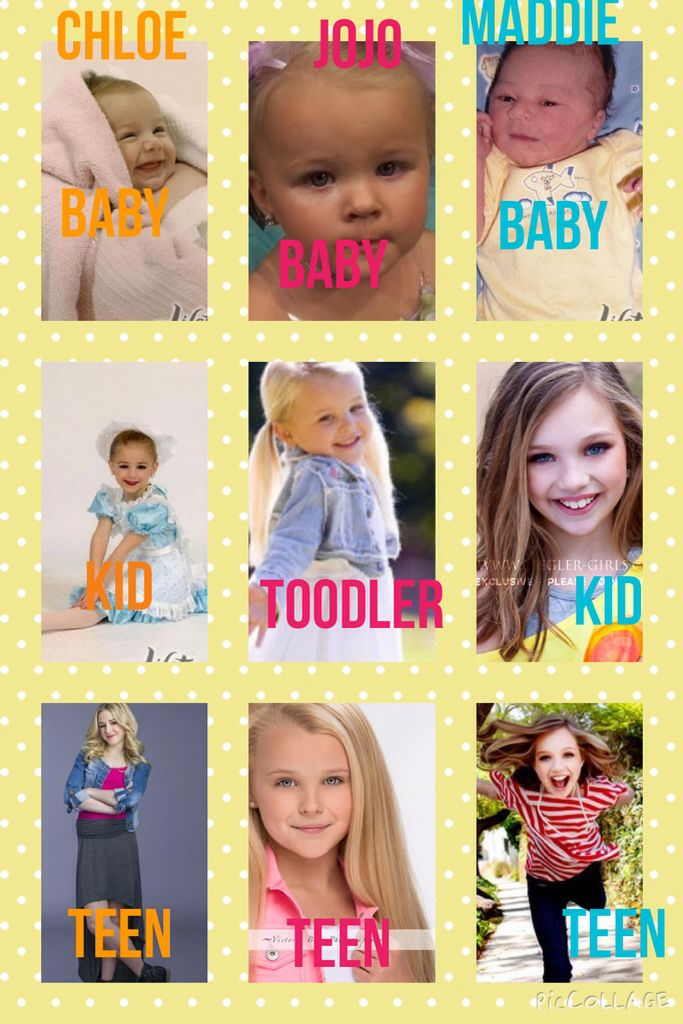 Back Then To Now With Chloe Jojo And Maddie Dance Moms Funny Dance Moms Dancers Dance Moms Quotes