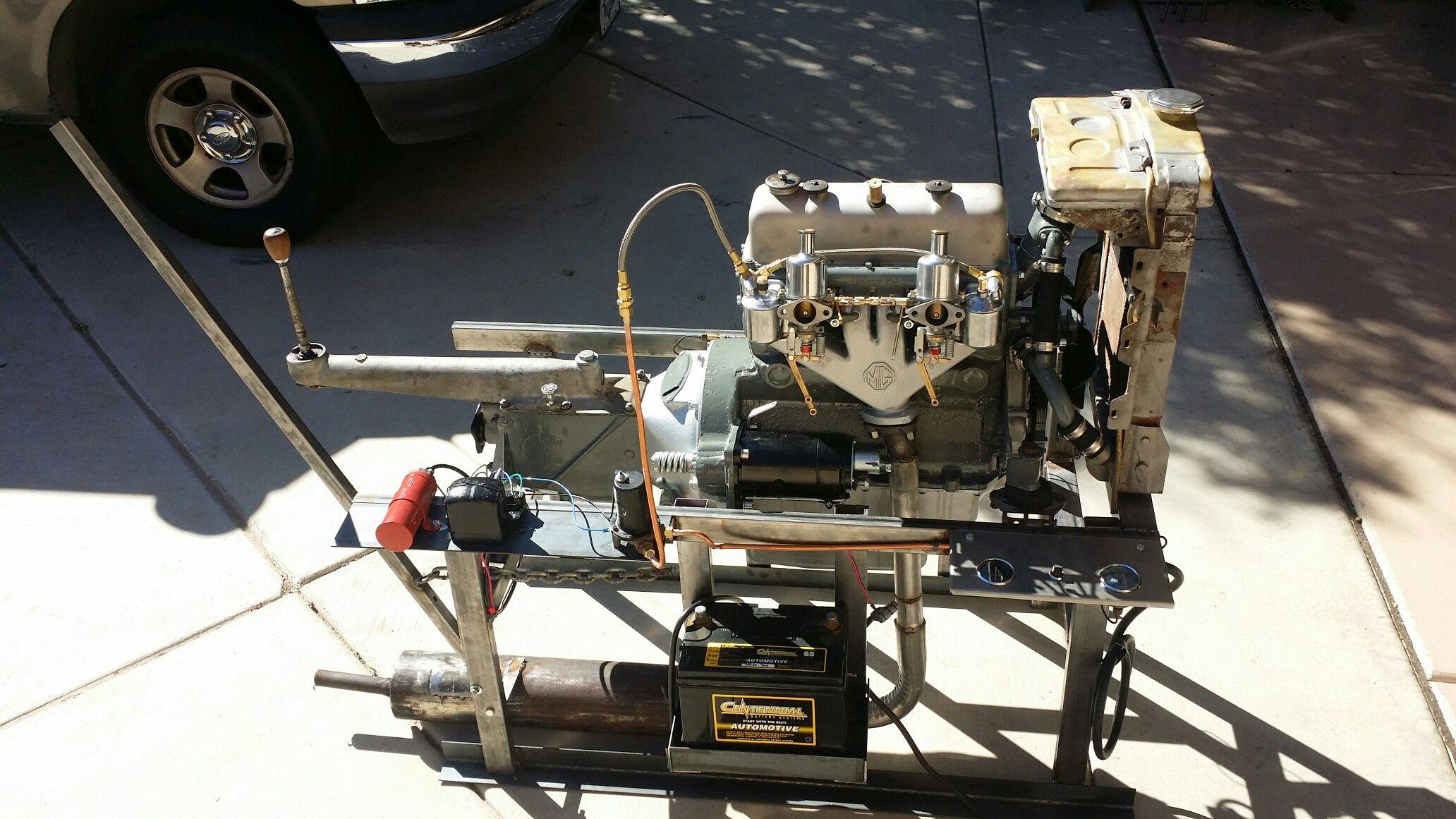 MG TC Engine | Engineering, Espresso machine, Kitchen ...