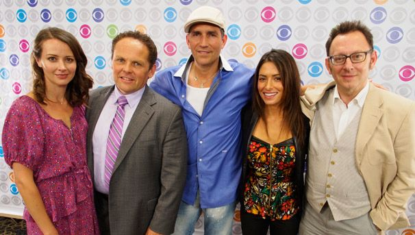 I love this picture of the cast of Person of Interest  I wish that