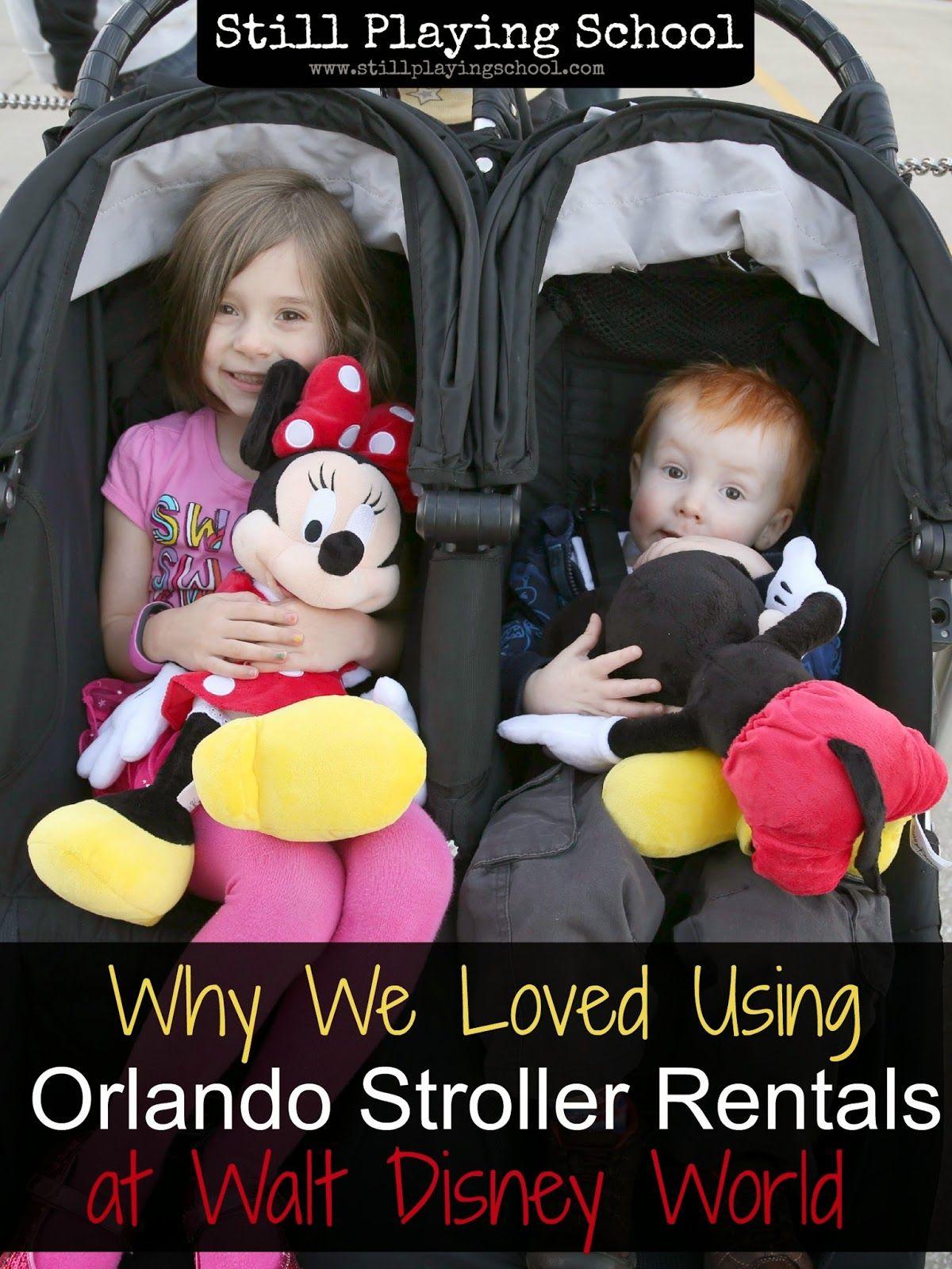 Orlando Stroller Rentals At Walt Disney World From Still Playing School