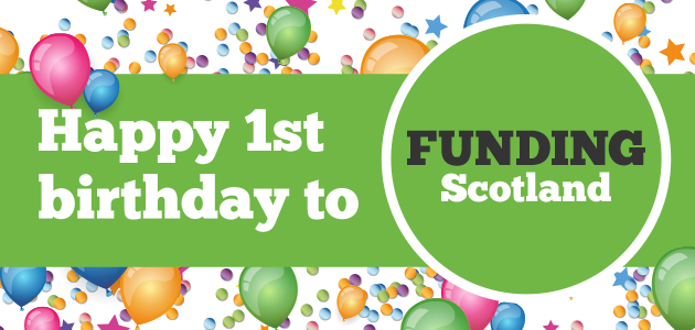 Funding Scotland celebrates first birthday We shared a special series of blogs to mark the occasion, each focused on a key Funding Scotland topic:  http://www.vsgwl.org/?p=14213