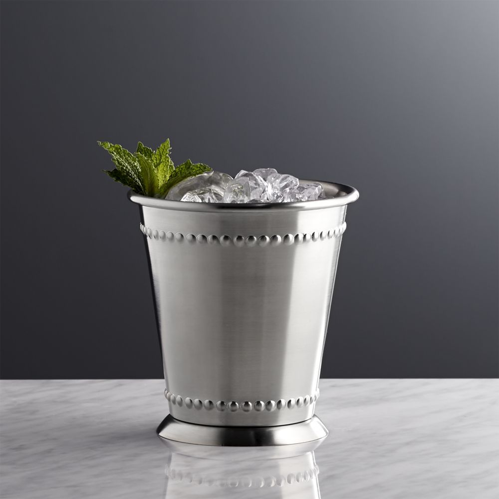"""NWT ~ GODINGER Nickel Plated MINT JULEP CUP ~ 3.5/"""""""
