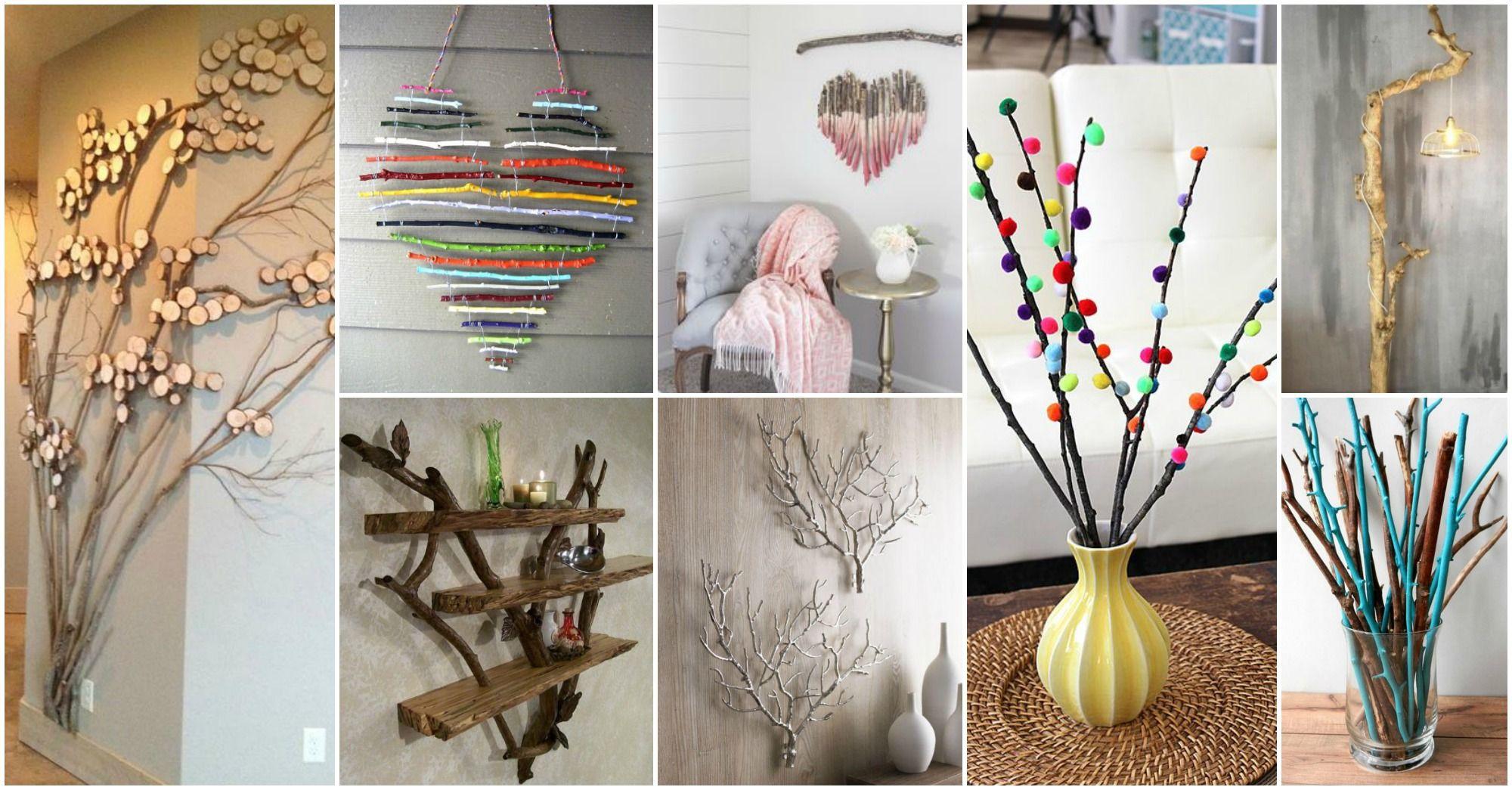 Diy Tree Branches Home Decor Ideas Tree Branch Decor Tree Branch Decor Diy Handmade Home Decor