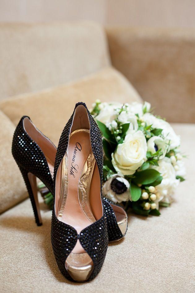 Bridal Shoes by Aruna Seth