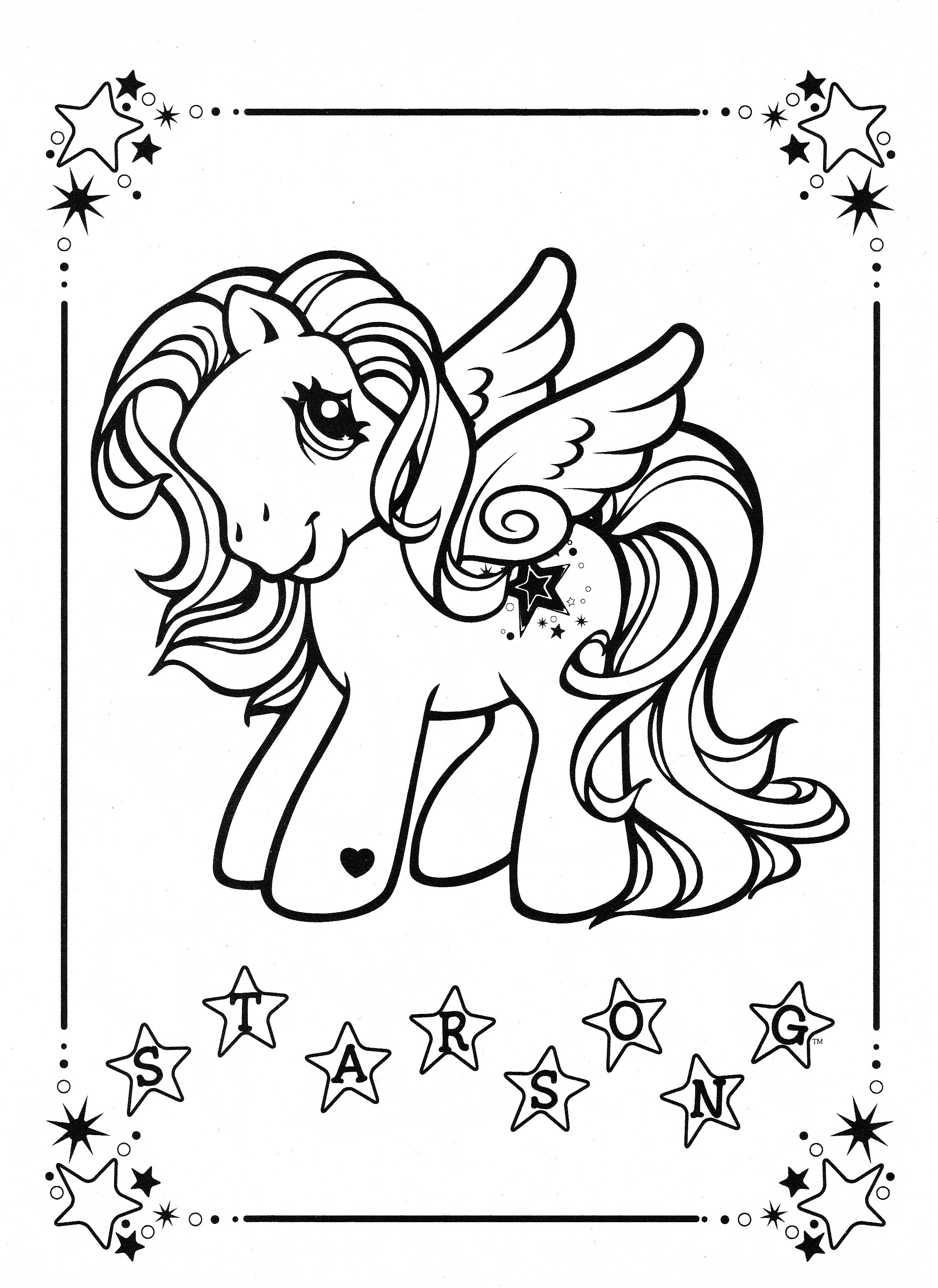 My Little Pony Coloring Page Mlp Star Song My Little Pony Coloring Cool Coloring Pages Horse Coloring Pages