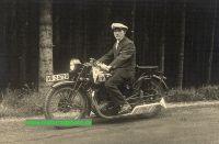 UT Motorrad Foto Super Sport 598 ccm ohv JAP-Motor  1929  ut-of01