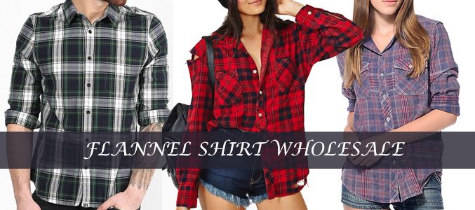 Clothing and Accessories to Look Best With Sizzling #Flannel #Shirts Crafted By Wholesalers