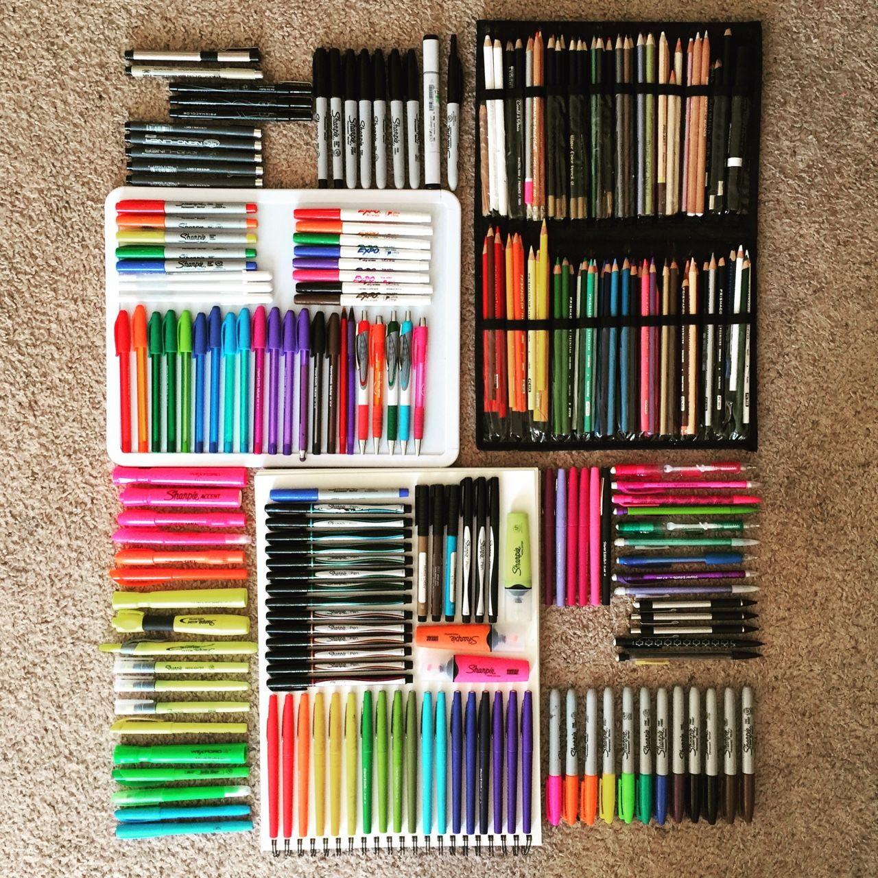 Things Organized Neatly Material Escolar Utiles