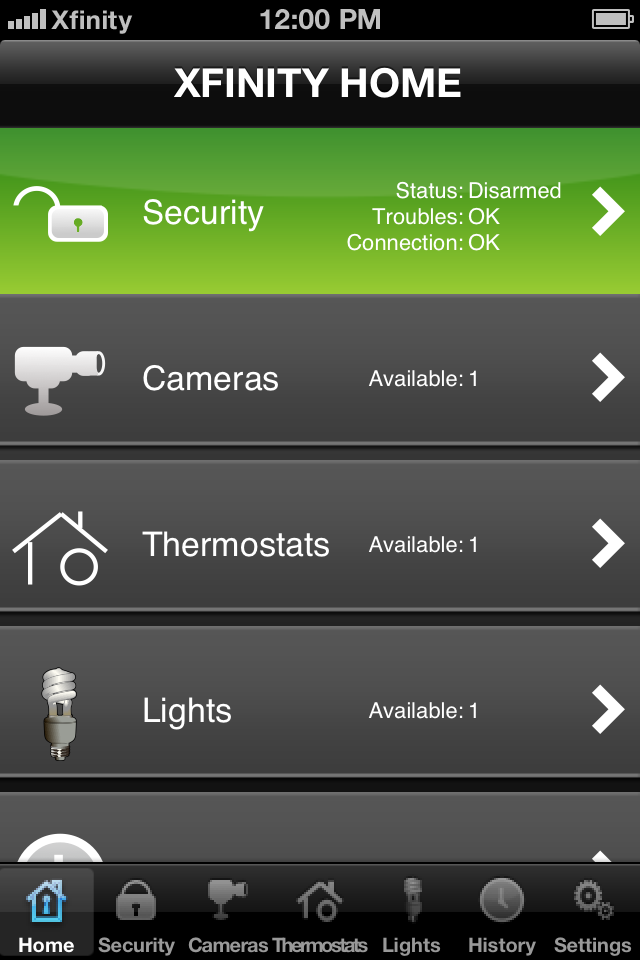 XFINITY Home Security (1,15 Mb) Security cameras for