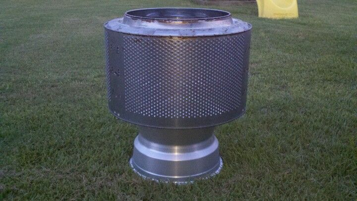 Washing machine tub and rim fire pit projects for Drim piscinas