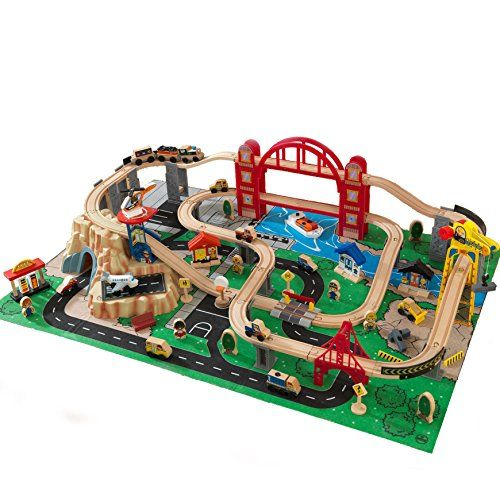 Kidkraft Metropolis Train Set With Roll Up Felt Play Mat Https Www Amazon Com Dp B013iduawi Ref Cm Sw R Pi Dp X Zqz6xb1a Kidkraft Felt Play Mat Train Set
