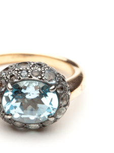 Pomellato Blue Tabou Ring review buy shop with friends sale