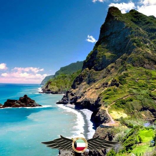 Madeira Island Portugal جزيرة ماديرا البرتغال مجموعه من الجزر وعاصمتها فونشال تقع في شمال المحيط الأطلسي و تعد المنطقة الأبعد من الاتح Outdoor World Water