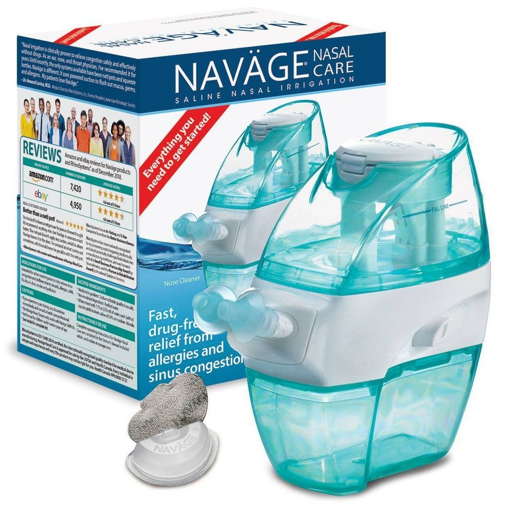 Navage Nasal Care Nose Cleanser and SaltPods in 2020