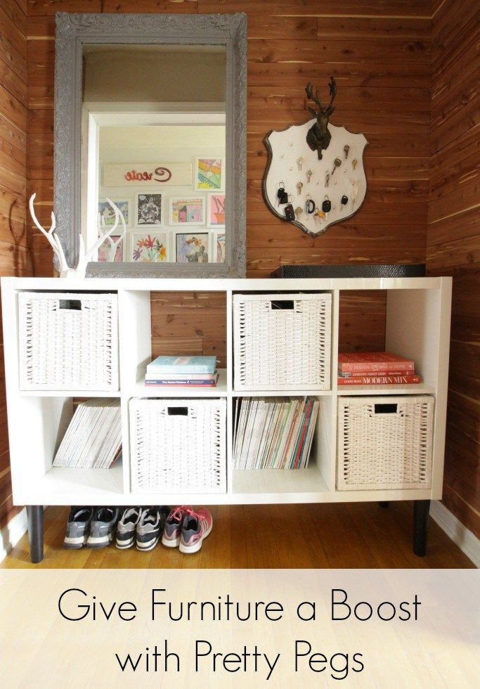 12++ Legs for cube organizer inspirations