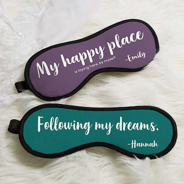 Funny Sleep Masks Funny Quotes Personalized Sleep Mask