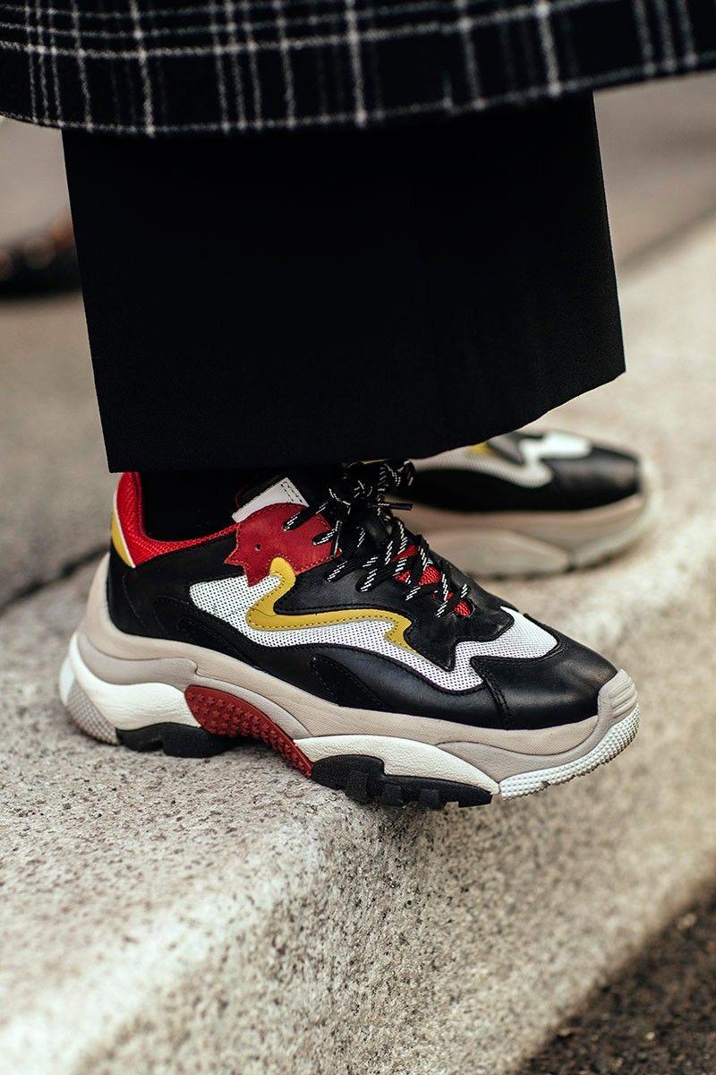 size 40 11dd1 0b449 Dad Shoes fashion trend invaded Milan Fashion Week.