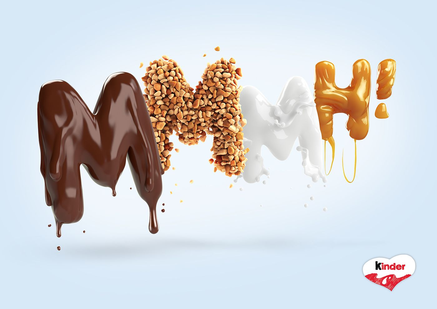 Serial Cut & Analog/Digital for Ferrero on Behance
