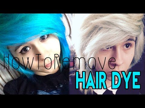 How To Remove Blue Hair Dye W Out Bleach Dyed Hair Blue Faded Blue Hair Dyed Hair