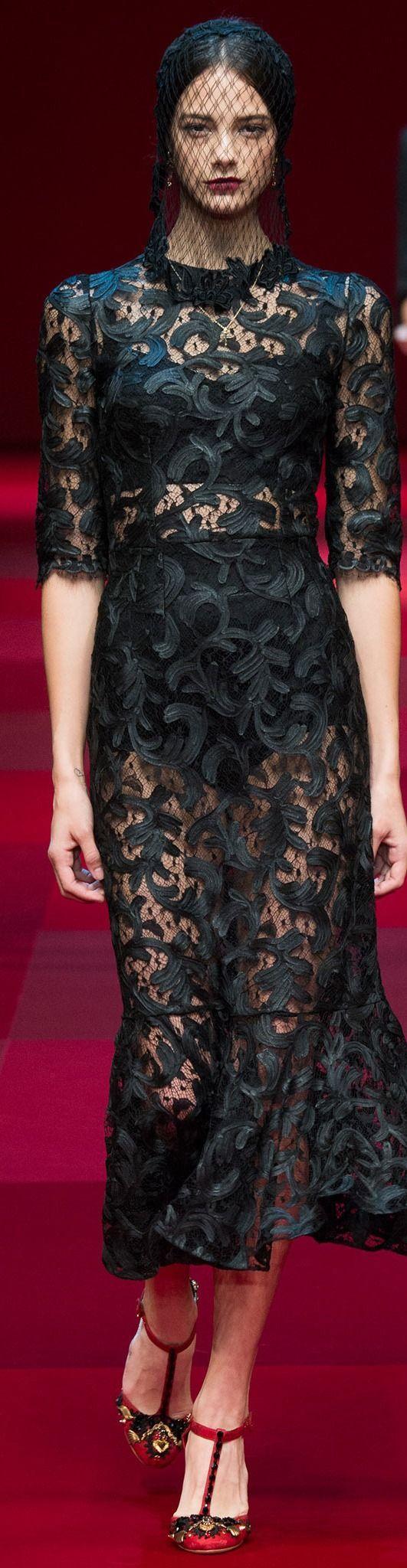 Dolce & Gabbana Collection Spring 2015
