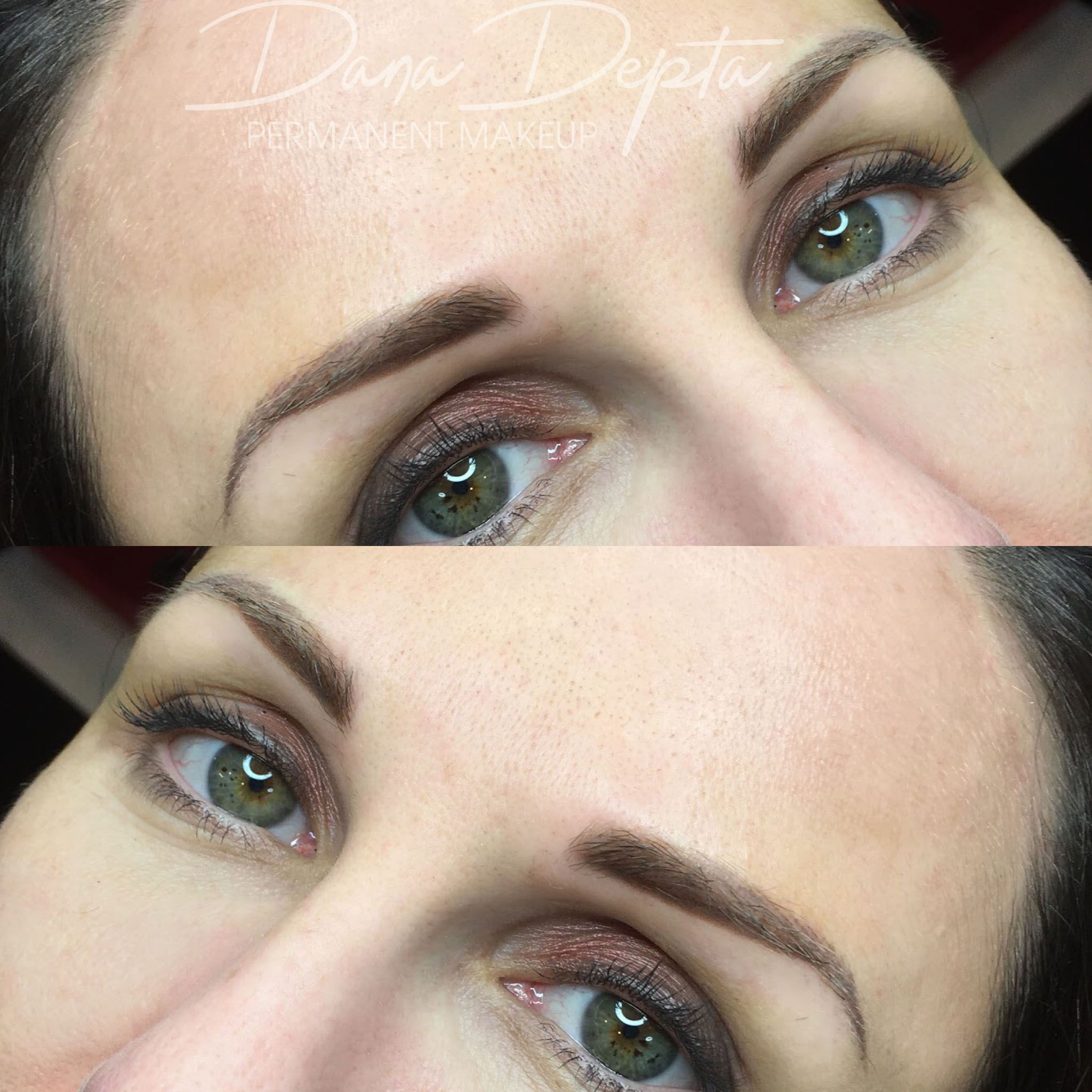 Powder Brows Can Fix Overplucked Brows Permanent makeup