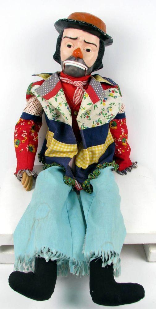 Vintage 1960 S Emmett Kelly Willie Clown 30 Quot Ventriloquist
