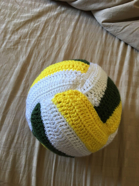 Volleyball Crochet PATTERN | Pinterest | Häkeln