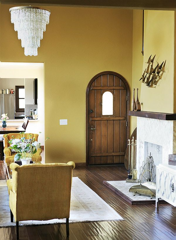 hmmmm do i need to paint my entry wall mustard?? | DIY | Pinterest ...