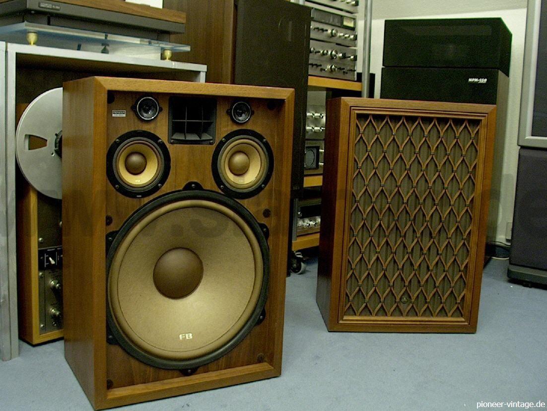 pioneer vintage hifi klassiker boxen lautsprecher speaker. Black Bedroom Furniture Sets. Home Design Ideas
