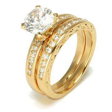 Ring Wedding Rings Sets Gold For Women Diamond