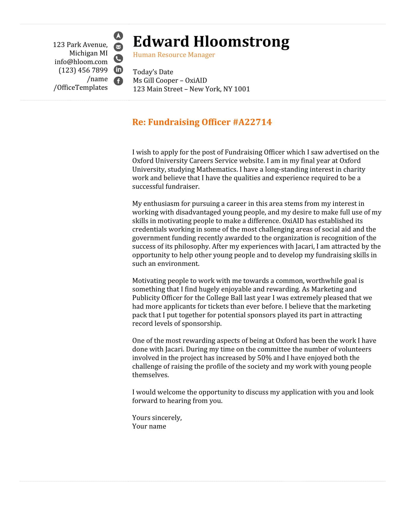 Cover Letter Template Word Reddit Check more at https