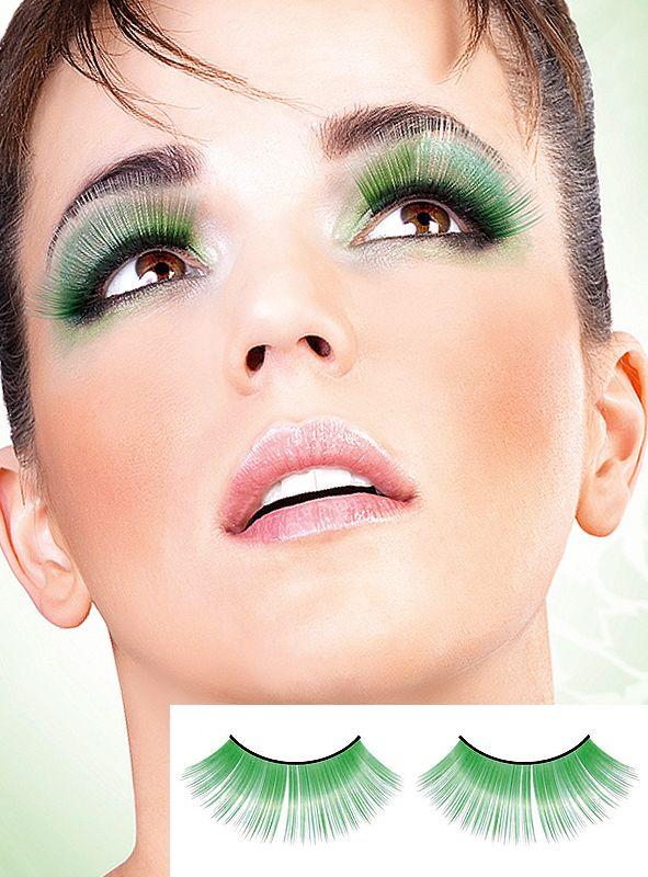 Glamour grün künstliche Wimpern Baci