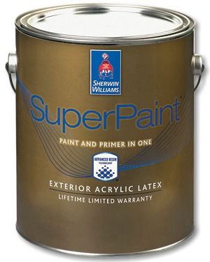 Captivating Count On Paint And Primer In One, SuperPaint® Exterior Acrylic Latex, To  Deliver Excellent Performance And Protect Against The Elements. Part 10