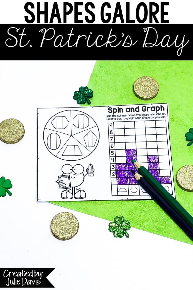 St Patrick S Day Math Shape Games Activities Teaching Shapes St Patrick Day Activities Math Centers [ 1152 x 768 Pixel ]