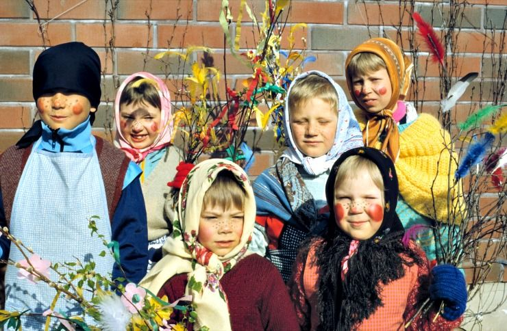 Easter in Finland is filled with witches, fun traditions and flavours