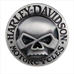 Harley Men S Cutout Willie G Skull Belt Buckle Harley Davidson