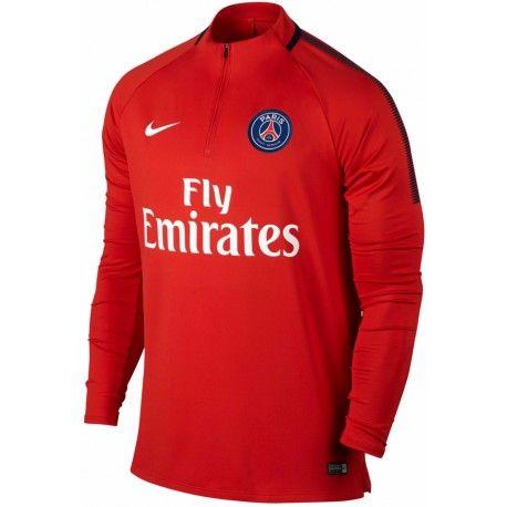 Sweat PSG 2017/2018 Officiel. Flocages Personnalisés Disponibles.