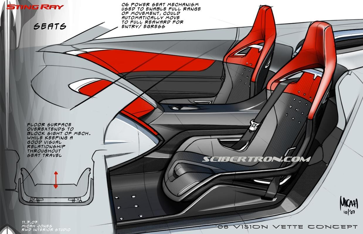 Seibertron Com Car Interior Design Car Interior Sketch