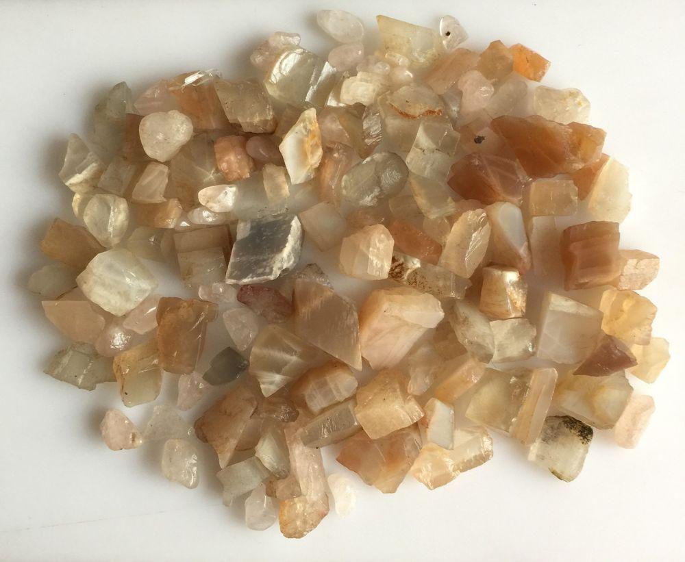 Details about  /White Rainbow Rough Multi Blue Rainbow Moonstone Gemstone Lot Mix Loose Rough