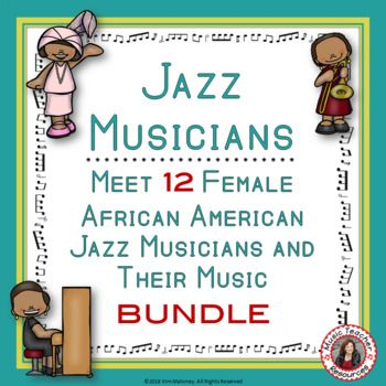 Music jazz musicians african american female jazz musicians bundle music lessons music listening lessons black history month african american female jazz musicians ibookread