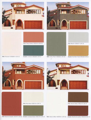 Mediterranean Paint Colors For The Exterior Color Designer Colors And Paints Pinterest
