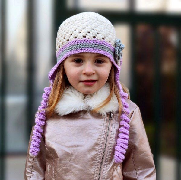 Gehäkelte Plüschmütze Mädchen Häkeln Hut Mütze Kleinkind Kinder