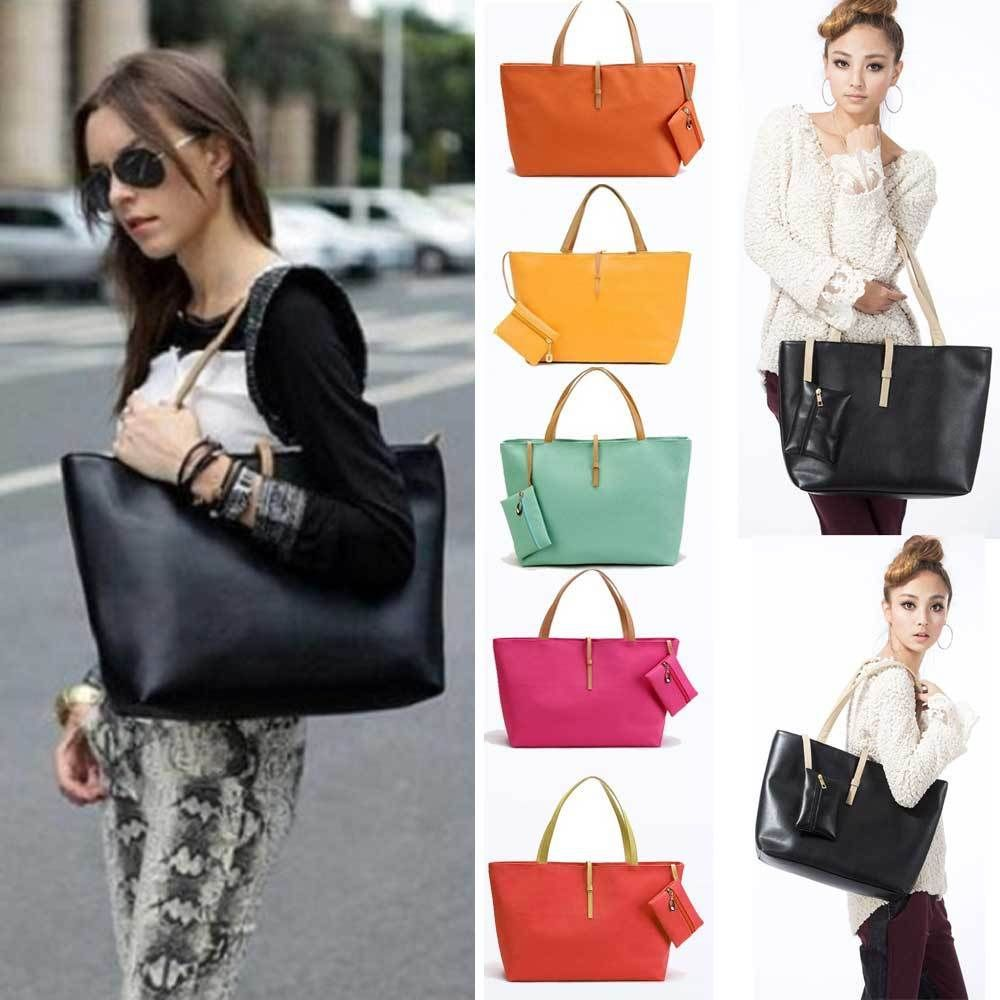 ce4de61f58 Women PU Leather Tote Shoulder Bags Hobo Handbags Satchel Messenger bag  Purse  Unbrand  VintageFauxLeatherToteShoulderBags