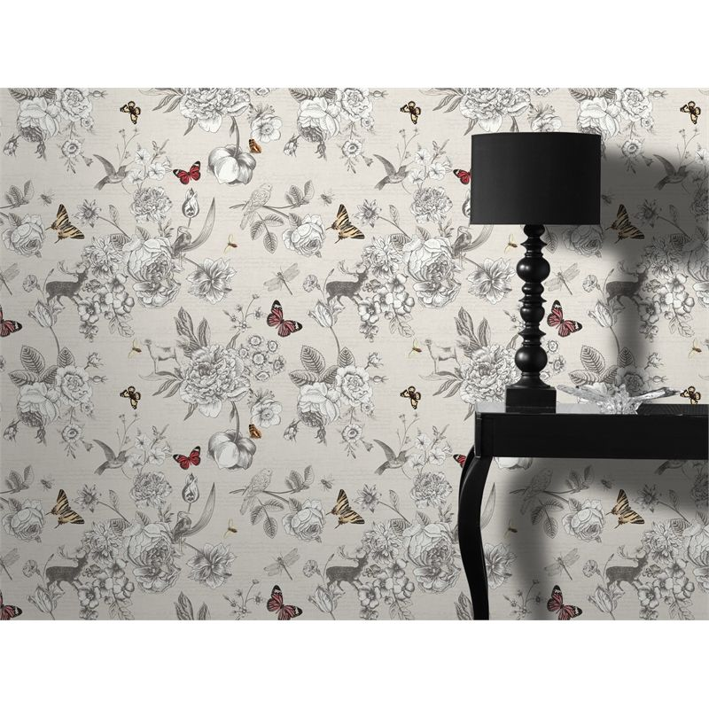 Find Superfresco Easy 52cm X 10m Neutral Victoria Wallpaper At Bunnings Warehouse Visit Your Local Store For Th Neutral Wallpaper Victoria Wallpaper Wallpaper