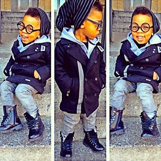 kids fashionLittle White Kids With Swag