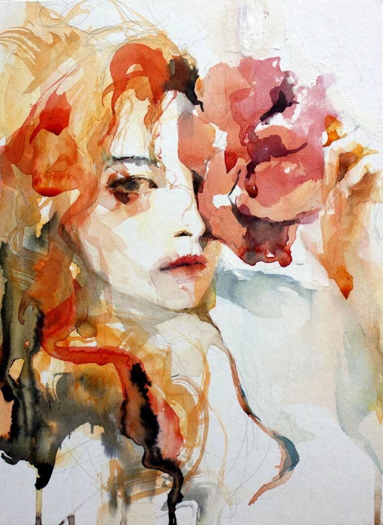 Original Portrait Painting By Ko Byung Jun Fine Art Art On Paper